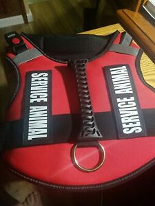 Reflective  Dog Harness Vest (Extra Large) Dog Animal Service Harnesses New
