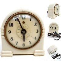 Not Working Art Deco War Alarm Bakelite Electric Alarm Clock Model 1 Decoration