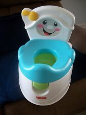 Fisher-Price Learn-to-Flush Potty, Training Learning Toilet, Unused