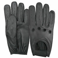 Real Leather Soft Driving Gloves Classic Retro Fashion Dressing Top Quality