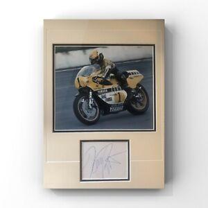 Kenny Roberts Sr - American Motorcycle Racing Legend Signed Display