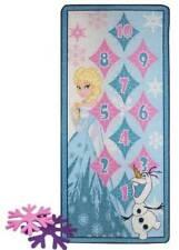NIB $50-Girls Disney Frozen 4 Piece Hop Scotch Play Mat Game Rug-size 31x44