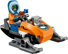 Lego City 60036 - Snow Scooter (Without all minifigs)