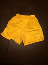 Umbro Women's Yellow S Fitted Workout/Exercise Shorts. Tl7