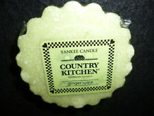 Yankee Candle Set of 3 Ginger Spice Tarts Wax Melts FREE Ship NEW