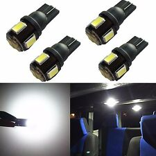 JDM ASTAR 4PCS T10 Wedge 5630 SMD White Interior Map Dome LED Bulbs 194 168 2825