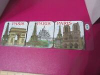 Jumi Paris Coasters Eiffel Tower Set Of 6 NIP