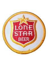 LONE STAR BEER COMPANY HARD TO FIND VINTAGE VAULT LOGO 3 INCH  PATCH!