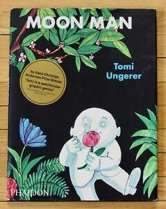 MOON MAN Tomi Ungerer 2009 Phaidon Press reprint HBDJ VGC L1