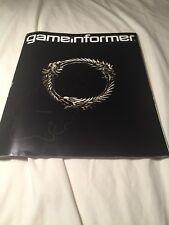 Game Informer Magazine The Elder Scrolls Online Issue 230 Video Games Guide Book