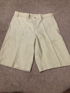 Paul & Shark Men's Shorts size 34 Linen Cotton
