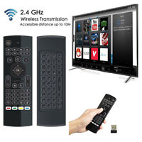 MX3 Backlit Air Fly Mouse Wireless Keyboard IR Learn Remote For AndroidBoxFB