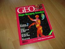 Geo Wissen Zeitschrift Körper Bewegung Gesundheit Nr. 24/97  top Zustand