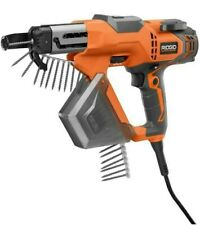 Ridgid R6791 1 3 In Drywall And Deck Collated Screwdriver New