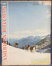 Vintage Magazine American Rifleman, DECEMBER 1953 !! RIFLES for the BIG BEAR !!