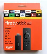 🔥FULLY LOADED🔥Lite NEW Fire Stick TV