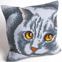 Collection D'Art - Cross Stitch Cushion Front Kit - Persian - Cat - CD5083