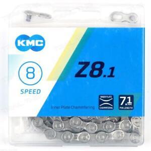 """KMC Z8.1 6 7 8-Speed MTB Road Bike Chain 116L 3/32"""" fits 8-Speed Shimano / SRAM"""