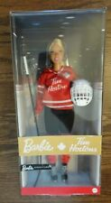 """TRACKED SHIP new in Box 2020 Signature Barbie Tim Horton's 12"""" Doll by Mattel"""