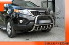 KIA SORENTO 2009-2012 PARE-BUFFLE BAS AVEC GRILLE DE PROTECTION CARTER EN INOX