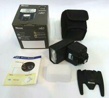 Nissin i40 flashgun for Sony ADI / P-TTL Camera Flash Compact Light Boxed & Mint