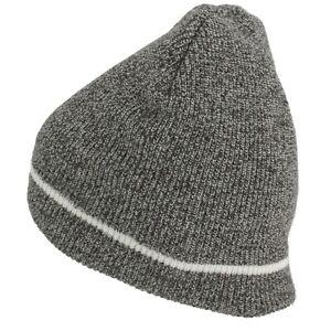 WIGWAM F4161 MENS WOMENS UNISEX FLATLINE 100% ACRYLIC/FLEECE BEANIE SKI SNOW HAT