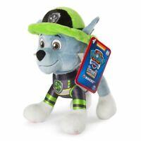 "Paw Patrol Plush Rocky Ultimate Rescue  8"" stuffed animal NEW"