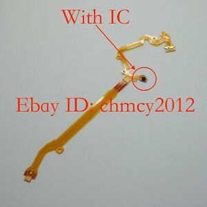 Lens Aperture shutter Flex Cable For CANON S100 S100V S110 S200 With IC