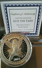 ALYX THE FAIRY 1 oz. 999 silver coin with COA limited to 10,000 SilverBug reddit