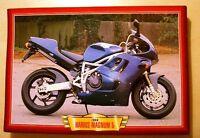 HARRIS MAGNUM 5 1996 SPORTS BIKE PICTURE PRINT HONDA CBR900RR CBR900 RR 1990'S