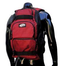 Vans unisex Treflip Burgundy/Black Straps Skateboard Laptop Bag Backpack Bag