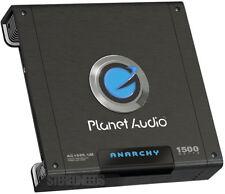 New listing Planet Audio Ac1500.1M Anarchy 1500 Watt Mono Amp Monoblock Car Sub Amplifier