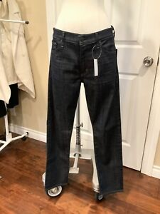 "Citizens of Humanity ""Agnes Mid Rise Slim Straight"" Dark Wash Jeans, Size 31 NWT"