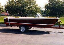 Vintage 1960 Chris Craft ski boat