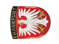 Frankfurt Wappen Metall Magnet Germany Deutschland Souvenir,Neu