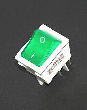 2 EVEREL Rocker Switch SX82 82.xx.8 4P 20A 125VAC 16A 250VAC Gre Lamp UL ENEC CE
