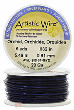 Orchid Artistic Craft Wire 18 Feet 5.48 Meters Jewelry Beading Crafts 20 Gauge