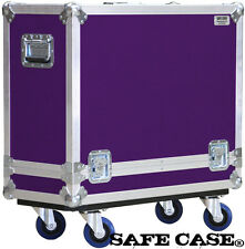 ATA Road Case for Fender 57 Twin-Amp Tweed Combo Amp in PURPLE Safe Case