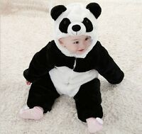 Hot Baby Boy Girl Cosplay Christmas Panda Fancy Party Costume Outfit Clothes