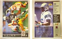 Lamar Smith Signed 1997 Upper Deck #280 Card Seattle Seahawks Auto Autograph
