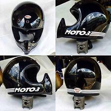 Bell Moto 3 New Stickers White sets vintage helmet motocross White