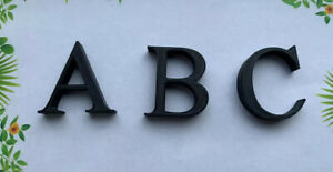 3D Printed Letters & Numbers - Bedroom Sign (10mm thick) (Various Sizes & Font)