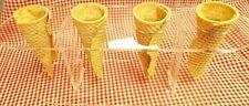 Acrylic Cone Holder, Ice Cream Cone, 4 Holes
