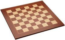 Philos Arce y Sapele madera tablero de ajedrez 50cm (50mm plazas)