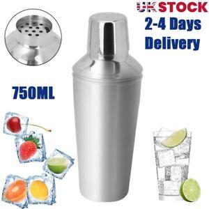 Cocktail Shaker Jigger Mixer Bartender Pub Martini Alcohol Drink Party Bar Steel
