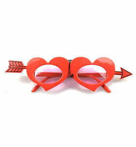 Cupids Heart Party Glasses for Party Glasses Costume