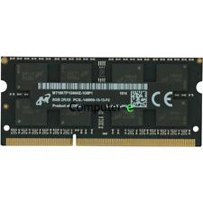 Micron 8GB PC3L-14900S DDR3-1866Mhz 204Pin 1.35V SO-DIMM Laptop Memory Ram