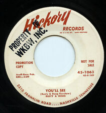 Hear - Rare Country 45 - Rusty & Doug - You'll See - Hickory Records