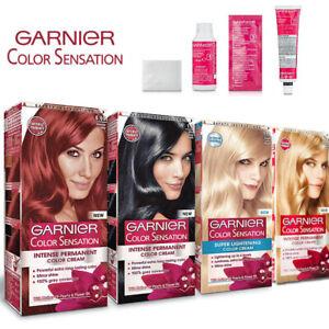 Garnier Color Sensation Intense Permanent Hair Colour Cream Dye