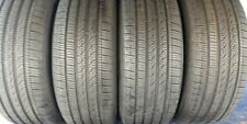 4 PIRELLI CINTURATO P7 A/S RFT 245 50 18 BMW 9-9.25/32nd TREAD LEFT 100 V